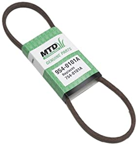 MTD 954-0101A Replacement Belt 1/2-Inch by 35-Inch from MTD