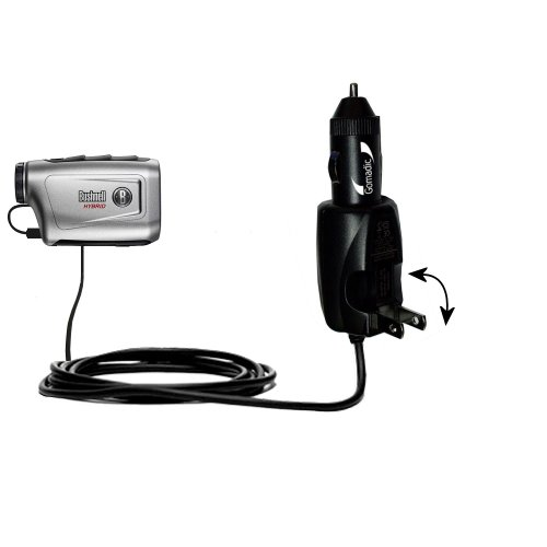 Unique Gomadic Car And Wall Ac/Dc Charger Designed For The Bushnell Hybrid Laser Gps - Two Critical Functions, One Great Charger (Includes Gomadic Tipexchange)