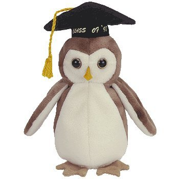 Ty Beanie Babies - Wise The 1998 Graduation Owl front-959123