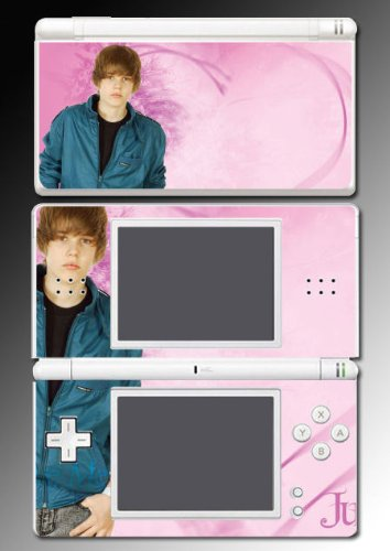 Justin Bieber Baby My World Vinyl Decal Cover Skin Protector #18 Nintendo DS Lite
