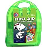 Be Smart Get Prepared Total Resources International Peanuts or Snoopy Kids First Aid Kit (30 Pieces)