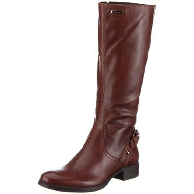 : Geox Women's Donna Mendi Stivali Boot,Brown,35 M EU / 5 B(M): Shoes