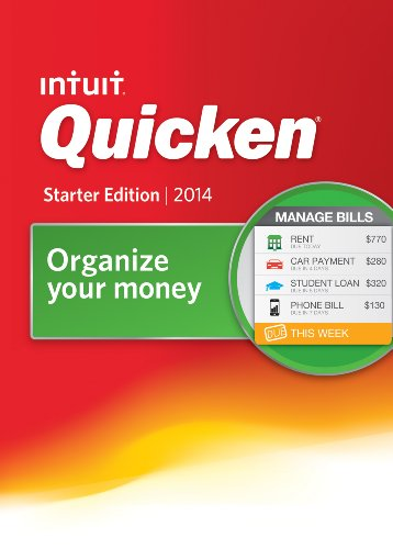 Quicken Starter Edition 2014 [Download]