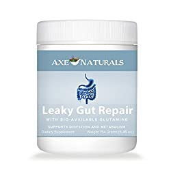 Axe Naturals Leaky Gut Repair with Licorice Root and L-Glutamine by Dr. Axe, 143.64 grams