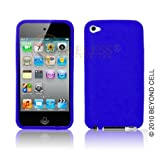 Premium – Apple Ipod Touch 4th Gen Silicon Skin Honey Dark Blue – Faceplate – Case – Snap On – Perfect Fit Guaranteed