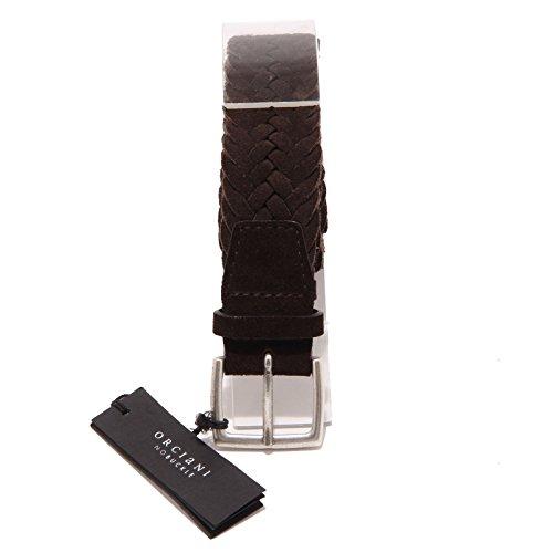 7736O cintura scamosciata marrone ORCIANI accessori uomo belts men [105 ]