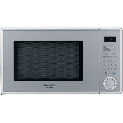 1.0 Cu. Ft. 1100 Watt Mid-size Microwave - Stainless