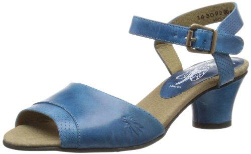 Fly London Womens Trud Fashion Sandals P143092004 Blue 8 UK, 41 EU
