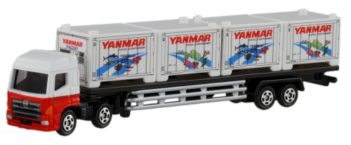 Takara Tomy Tomica #125 Hino Profia Yanmar Cool Container Trailer Truck