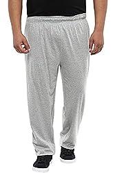Alto Moda by Pantaloons Mens Regular Fit Trouser Grey Melange 5