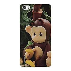 Special Toy Monkey Multicolor Back Case Cover for Honor 6