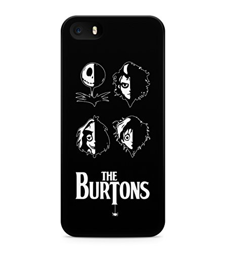 Nightmare Before Christmas Burtons Hard Plastic Snap On Back Case Cover For iPhone 5 / 5s Custodia