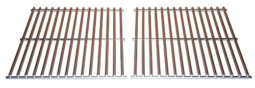Music City Metals 547S2 Stainless Steel Wire Cooking Grid Replacement for Select DCS and Uniflame Gas Grill Models, Set of 2