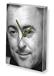 ALAN CUMMING - Canvas Clock (A4 - Signed by the Artist) #js002