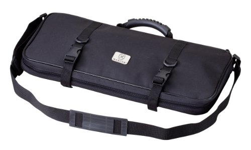 Mercer Culinary Single-Zip 12-Pocket Knife Case