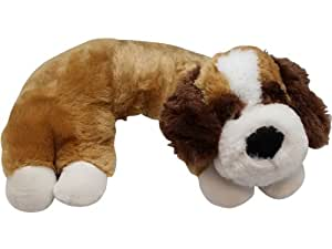 Animal Pillow Chum Dog : Large Brown Dog Pillow Chums Kids Neck Pillow: Amazon.ca: Home & Kitchen