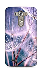Amez designer printed 3d premium high quality back case cover for LG G3 (Feathers)