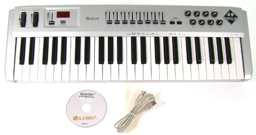 New BadAax OR49 MIDI Keyboard Controller