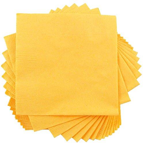 JAM Paper Tablewares - Paper Napkins - Medium Lunch Size (6 1/2