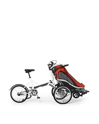Schiano Cicli Bicicletta Con Trasportino Childpod Cerchi 20 Rosso