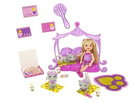 Barbie Luv me 3 Kelly Doll & Pets Bedtime Playset - Buy Barbie Luv me 3 Kelly Doll & Pets Bedtime Playset - Purchase Barbie Luv me 3 Kelly Doll & Pets Bedtime Playset (Barbie, Toys & Games,Categories,Dolls,Playsets,Fashion Doll Playsets)
