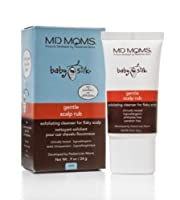 Cradle Cap Gentle Scalp Rub Cleanser by MD Moms - Hypoallergenic Exfoliating Formula By Pediatricians for Baby from MD Moms