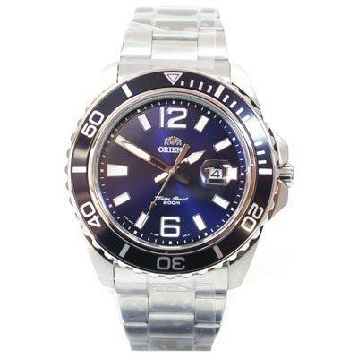 ORIENT Uhr Deep Quarz Herrenuhr blau Datum NEU FUNE3002D0