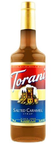 Torani Salted Caramel Syrup, 750 mL