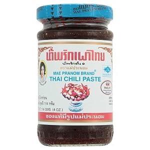 Mae Pranom Thai Chili Paste 114g(4 Oz)