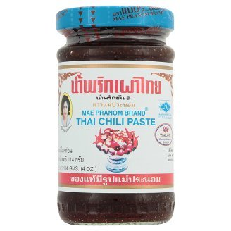 Mae Pranom Thai Chili Paste 114 g. (Pack of 2) ed 526 ваза pavone