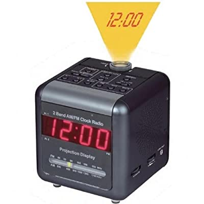 Nitespy 520 Dual Band AM/FM Clock Radio with Hidden DVR Camera