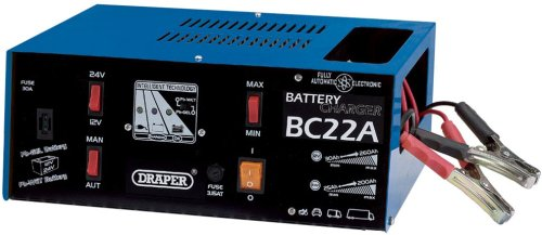 Draper 43941 230V 22A AUTO BATTERY CHARGER