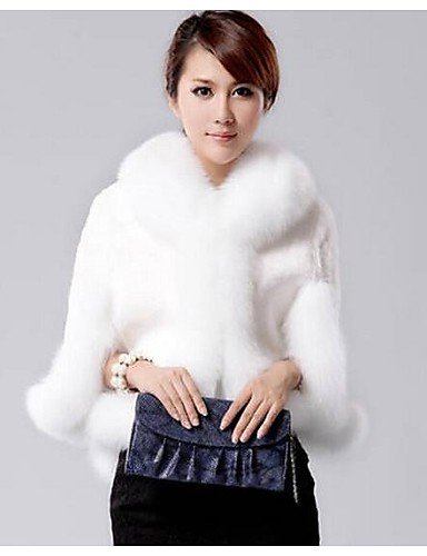 xisoso-womens-fox-collars-acura-rabbit-fur-shawl-fur-coat-white-one-size