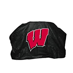 Buy NCAA Wisconsin Badgers 68-Inch Grill Cover by Seasonal Designs