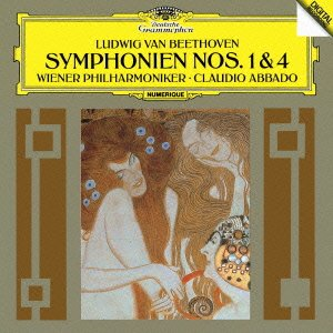 Claudio Abbado / Vienna Philharmonic Orchestra - Beethoven: Symphonies Nos.1 & 4 [Japan CD] UCCG-4788