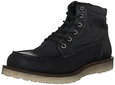 Jack and Jones Men's Logger Black Lace Up Boot 12048646 7 UK