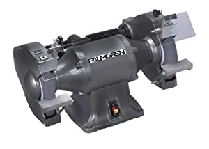 Palmgren 82101 10-Inch 1HP Bench Grinder, Dark Grey/Black at Sears.com