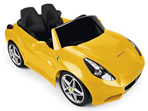 Famosa 800010060 - Feber Ferrari California Macchinina Elettrica, 12 V, Gialla