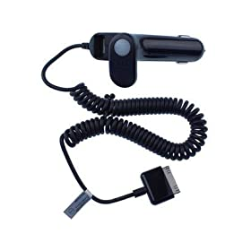 AT&T Car Charger w/ USB Port for Apple iPhone 3GS 3G & iPod