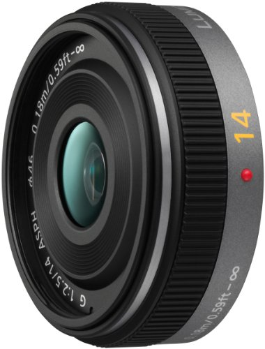 Panasonic Lumix 14mm f/2.5 G Aspherical Lens for Micro Four Thirds Interchangeable Lens Cameras