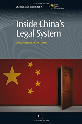 Inside China's Legal System (Chandos Asian Studies Series)