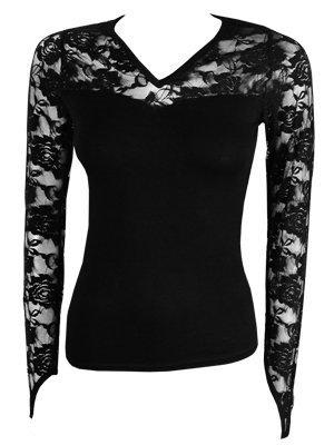 Spiral - Longsleeve Glove (T-Shirt Manica Lunga Donna S)