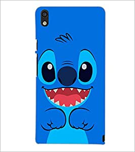 PrintDhaba Cartoon D-1248 Back Case Cover for HUAWEI ASCEND P6 (Multi-Coloured)
