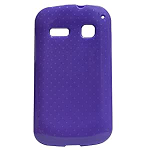 Crazy Fashion Purple Back Cover for Panasonic T31