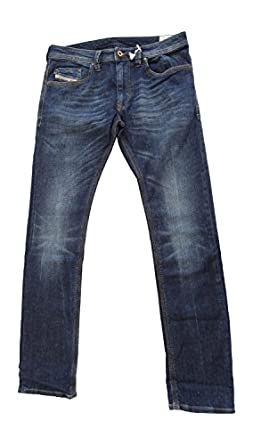 Diesel Thanaz Mens Denim Jeans Wash 0rj06 Stretch Dark Blue Slim Skinny (waist 31 leg 32)