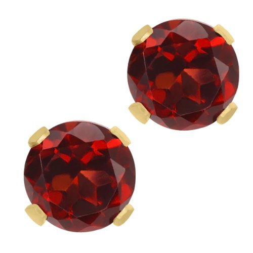 200-ct-round-garnet-10k-yellow-gold-stud-earrings-6mm-by-gem-stone-king