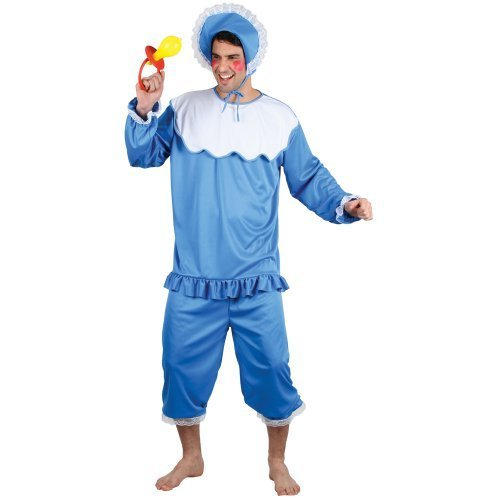 Imagen 1 de Big Cry Baby Mens Fun Stag Fancy Dress Costume One Size (disfraz)