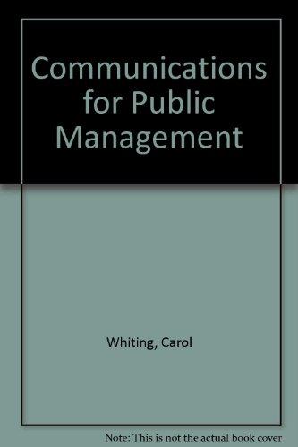 communications-for-public-management
