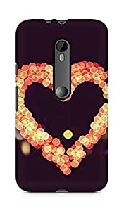 Amez designer printed 3d premium high quality back case cover for Moto G Turbo Edition (Heart Guardian)
