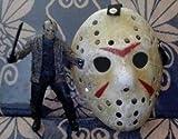 ジェイソン風マスク 13日の金曜日 コスプレ お面 仮面 小物 仮装 学園祭 ホラー クリスマス パーティー